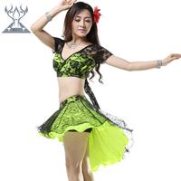 Belly dance set square dance cape lace set belly dance clothes set 2207
