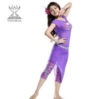 Milk silk print belly dance costume belly dance skirt slim TP2212