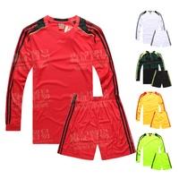 Paintless long-sleeve jersey set male soccer jersey football training suit football jersey soccer jersey