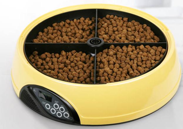 Pet cat dog automatic feeder cat food dog food dog fanpen cat bowl(China (Mainland))