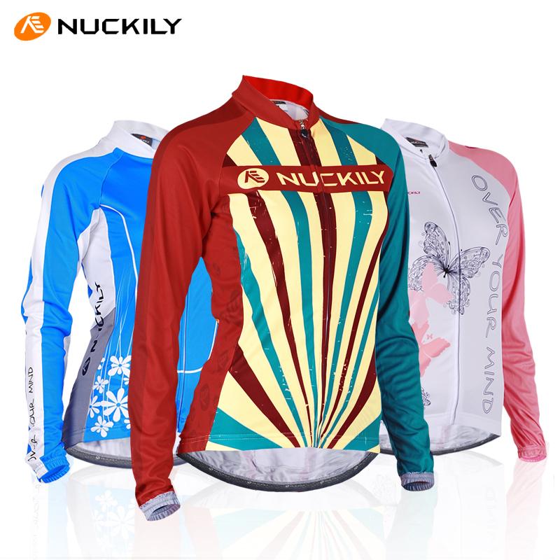 feminino nuckily longo- mangas wicking jersey malha respirável primavera e verão esportes ao ar livre jaqueta fina camada(China (Mainland))