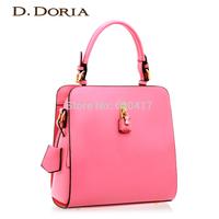 2014 handbag fashion shoulder bag messenger bag female candy color bags trend gentlewomen lock bag