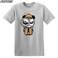 2014 new short-sleeved cotton round neck T-shirt Men Women British American TV drama Sherlock Holmes t-shirt men clothing
