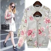 2014 autumn silver yarn print outerwear long-sleeve top mm plus size clothing fashion cardigan