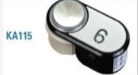 elevator accessories black button ka115 button