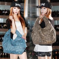 K2 women's fashion handbag print canvas bag shoulder bag vintage 2014 women's handbag bag