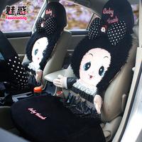 Mohini thumb doll three-dimensional cushion plush car seat cushion general winter cartoon cushion