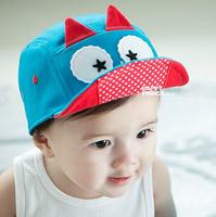 2014 child cap baby cap male female child soft cartoon style baseball cap