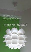 Genuine modern minimalist European Lotus Restaurant ceiling decoration new creative bedroom lamp chandelier free shipping