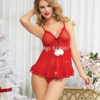 New Straps Sleeveless sleepwear sexy lace Nightgown+T pants Twinset pyjamas women Transparent pajamas Free Size XXL Lingeries