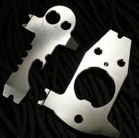 Multi-functional Pocket Gadget Skull Bottle Opener Keychain 2 Pcs/set