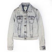 Autumn light color slim denim outerwear long-sleeve denim coat short jacket denim top female