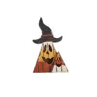 Resin craft pumpkin lamp led lighting cartoon home decoration beautiful halloween decoration