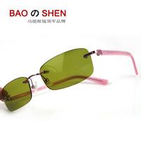 Sportscenter women's night vision glasses zengguang sunglasses red frame