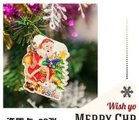 Wishing cards, 2014 christmas decoration, 3.5 * 5cm mini wish cards, christmas tree small greeting card