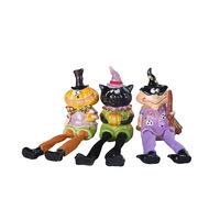 Resin craft decoration cartoon dolls cloth home decoration halloween decoration