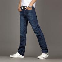 new 2014 male trousers slim pencil pants boys jeans skinny pants casual trousers men jeans