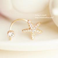 Clip earrings no pierced stud earring clip earring fashion accessories female