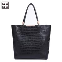 World Best quality 2014 leather fashion bag for Crocodile genuine leather bag shoulder bag handbag women's
