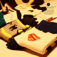 Men's socks fashion socks knee-high socks fashion sports comfortable cartoon socks