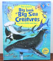 Picture book usborne big book big folding book cool, early development child 3D English book