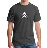2014 men's clothing citroen 100% short-sleeve cotton o-neck short-sleeve T-shirt