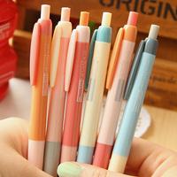 Stationery  unisex pen candy color small unisex pen press pen