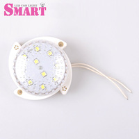 Free Ship 3W 220VAC Indoor LED Sound Control Induction Lamp Stair Wall Sensor Night Light 10LED SMD5050 Chip