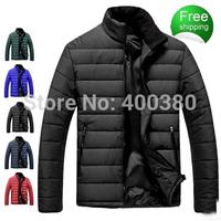 2014 fashion black plus size stand collar wadded jacket coat plus size plus size winter cotton-padded jacket