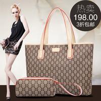 Women's bags 2014 women's handbag fashion handbag female genuine leather shoulder bag big bags women's handbag