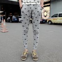 2014 new fashion eye printed Casual Pants for Men Harem Pants Sweatpants hip hop baggy bandana pants calca moletom masculinas