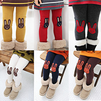 2014 autumn and winter clothing girls legging child casual long trousers kz-1323