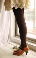 Seven color 100% foot thick cotton velvet pants crotch size  plus heat foot Leggings