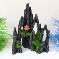 Fish tank aquarium decoration ornament rockery H20cm*L15cm hotsale free shipping