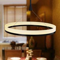 free shipping  Modern Simple Design Mini Pendant LED Ring ligjt  100-250V