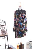 Free shipping 2014 spring long design mm plus size long-sleeve shirt shoulder pads basic shirt fashion women's