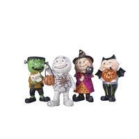 Resin craft cartoon dolls cloth fashion home decoration halloween decoration supplies