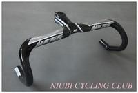 NESS full Carbon fiber Bicycle road bike Integrated handleba/stem 400/420/440mm*90/100/110/120mm