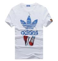 Mens T Shirts Fashion 2014 Summer New Cotton T-Shirt Casual Slim  Short Sleeve For Men's Clothing Brand Tshirt Camisetas