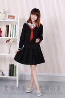 Cosplay anime costume Hell Girl clothes magic love skirt yan school uniform Jigoku Shojo Dress