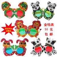 Eva birthday gift glasses personalized decoration handmade diy cartoon child glasses
