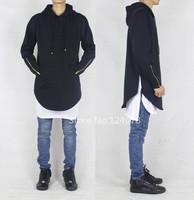 round oversized hoodies men cool side zipper diamond sweatshirt hip hop homme femme slim fit pyrex hba last kings plus size swag