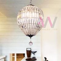 The export trade of modern simple elliptical crystal chandelier bedroom study restaurant dining room lighting LED lamp
