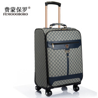 Universal wheels trolley luggage male commercial16 20 24 luggage travel bag suitcase luggage pull box,famous brand man luggage