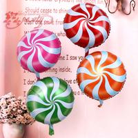 Baby costumes birthday balloon supplies lollipop balloon aluminum balloon