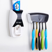 Fully-automatic device toothpaste squeeze with dust toothbrush holder lounged toothpaste squeezer set home