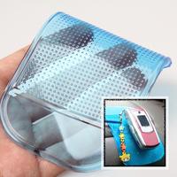 LY4# Modern Mini Blue Car Helper Sticky Mat Anti Slip Pad Car Dash for Phone Blue C