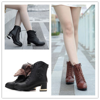 2014  genuine leather  women ankle boots,  woman winter shoes ,short boots wool wedges  aisimi australian boots emu  snow boots