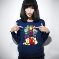 O-neck sweatshirt pullover ink a30 1202208