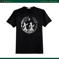 2012 men's clothing short t 100% cotton short-sleeve T-shirt 1201101